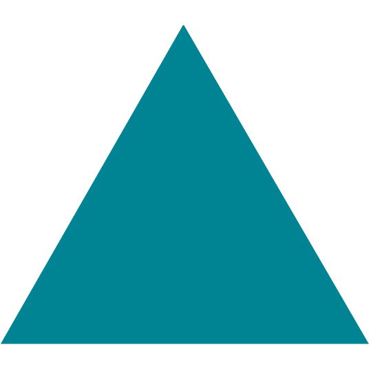 Teal Triangle